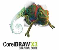 کورل دراو - CorelDRAW X3